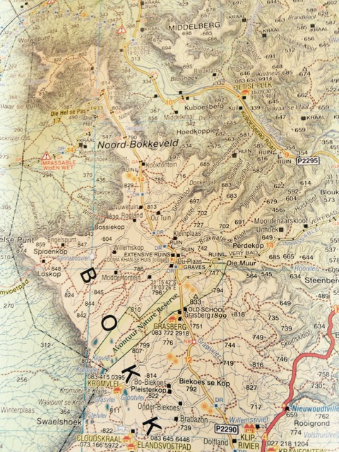 GCBC Avontuur map